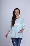 Блузка для беременных 09583 розовый