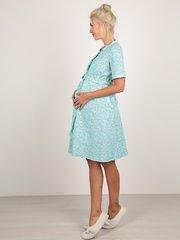 Euromama/Евромама. Комплект для беременных и кормящих с волнистой отделкой, ментол вид 5