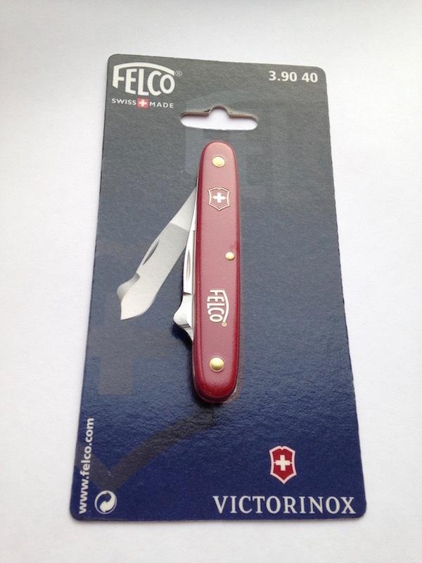 Нож для прививки щитком фруктовых деревьев FELCO (Victorinox) 3.90 40