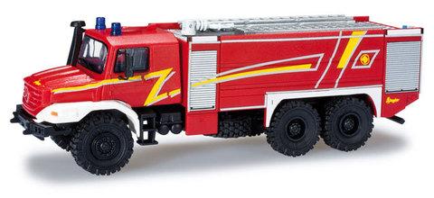 Herpa 049986 Пожарная машина MB Zetros