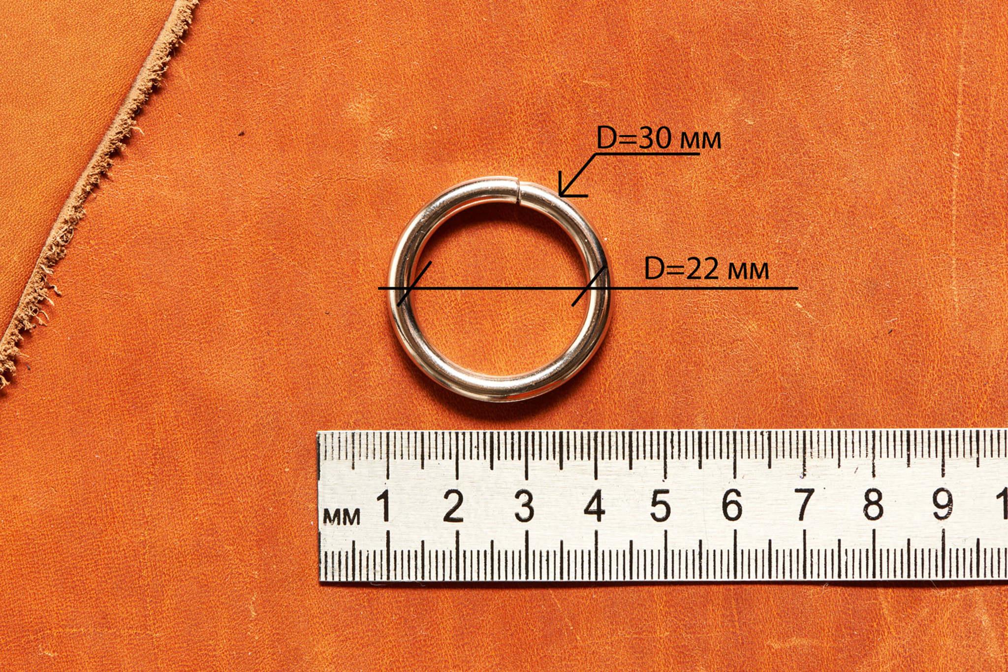Кольца металлические для сумок