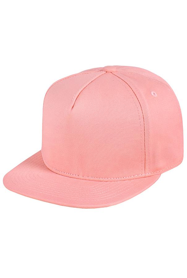 Розовая бейсболка фото 1