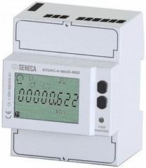 Счетчик энергии 1 / 5А 3-фазный 4-х проводный 4 DIN-RS485 Modbus, MID сертификат
