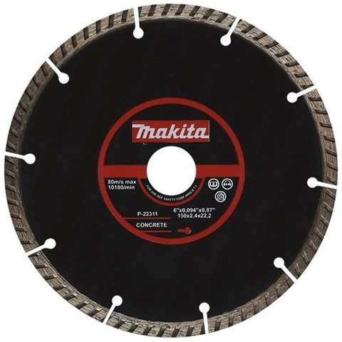 Диск алмазный сегментный MAKITA P-22311