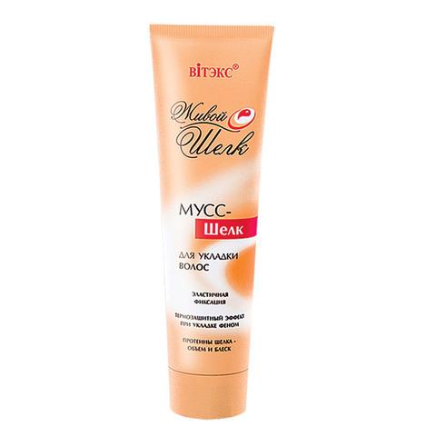 Витэкс Живой шелк Мусс – шелк для укладки волос эластичной фиксации 100 мл