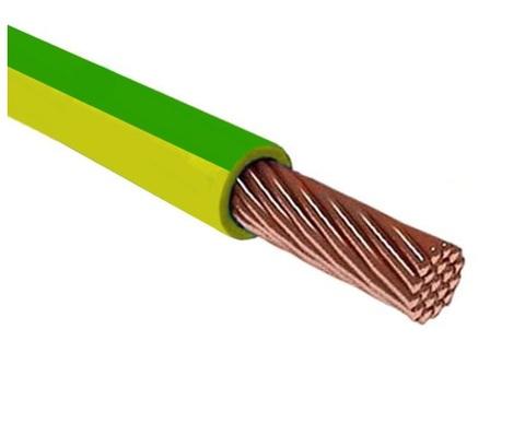 Провод ПуГВ (ПВ-3) 1х2,5 ГОСТ (500м), желто-зеленый TDM