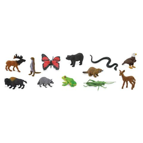 Набор фигурок Лесные обитатели, Safari Ltd.