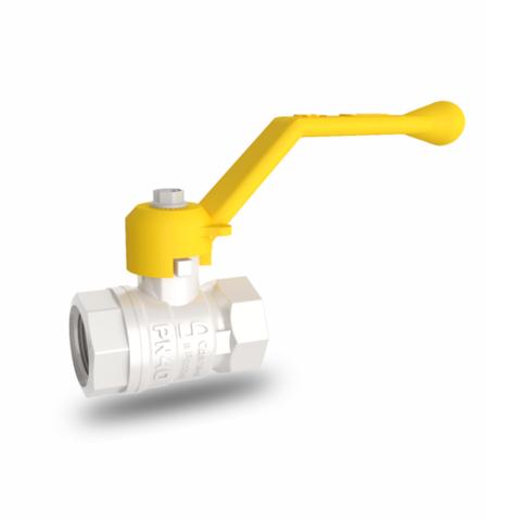 Кран шаровый латунный для газа LD Pride (11б27п) ду50 (2
