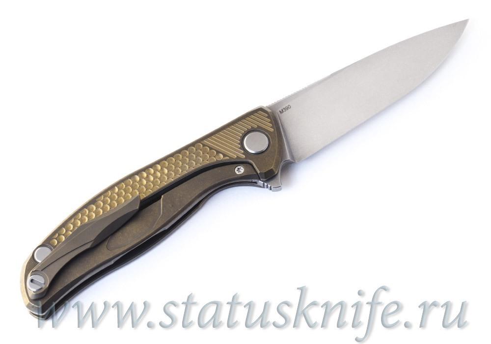 Нож Широгоров Гольф Кастом М390 - фотография
