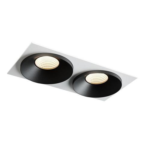 SINGLE LC black + Frame 02 white фото