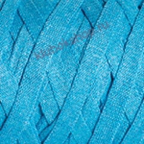 Ленточная пряжа YarnArt Ribbon цвет 763 бирюзовый