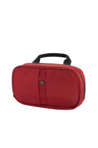 Несессер VICTORINOX Lifestyle Accessories 4.0 Overmight Essentials Kit, красный, нейлон, 23x4x13 см