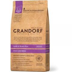 Grandorf Dog Large Breeds сухой корм для собак крупных пород (ягнёнок с рисом) 12кг