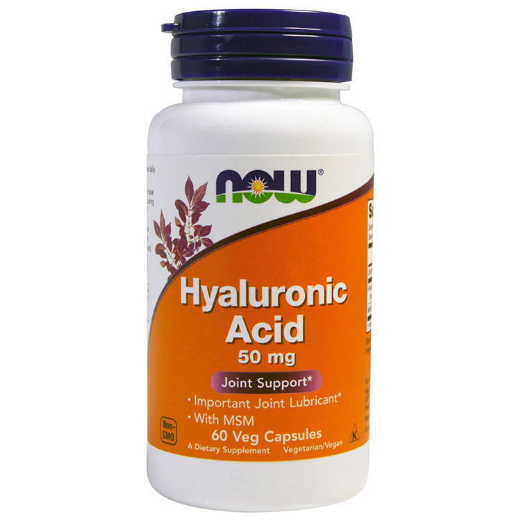 Hyaluronic Acid 50 mg with MSM