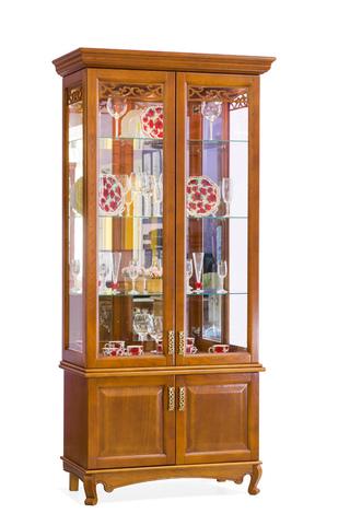 Шкаф с витриной 2 дв. Венеция