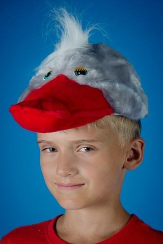 Карнавальная шапочка Гусь