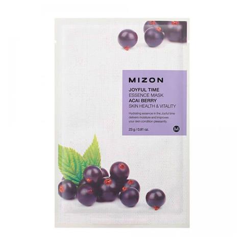 Mizon Joyful Тканевая маска для лица с экстрактом ягод асаи 23г