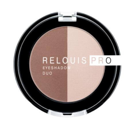 RELOUIS Тени Pro Eyeshadow DUO двойные тон 104