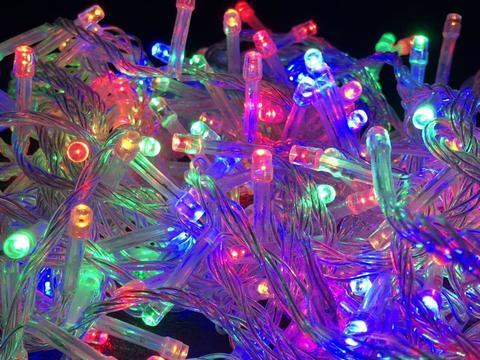 Дощ-гірлянда Бахрома 120 LED C 3 м. синій
