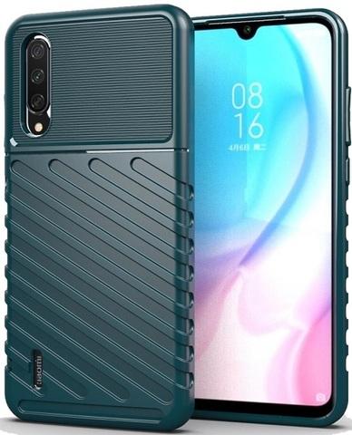 Чехол Xiaomi Mi A3 (CC9E) цвет Green (зеленый), серия Onyx, Caseport