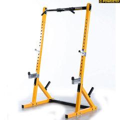 Стойка силовая Half Rack Powertec WB-HR14, цвет желтый