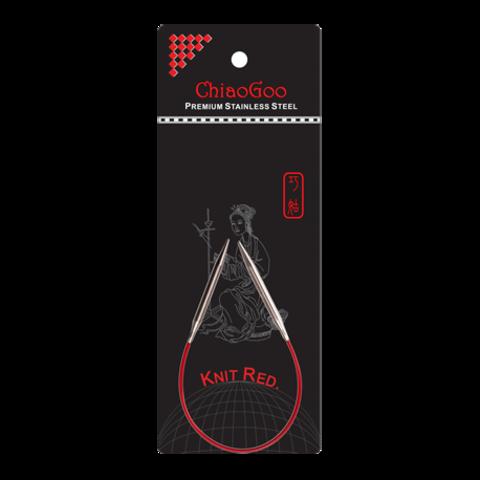 ChiaoGoo Knit Red 23 см