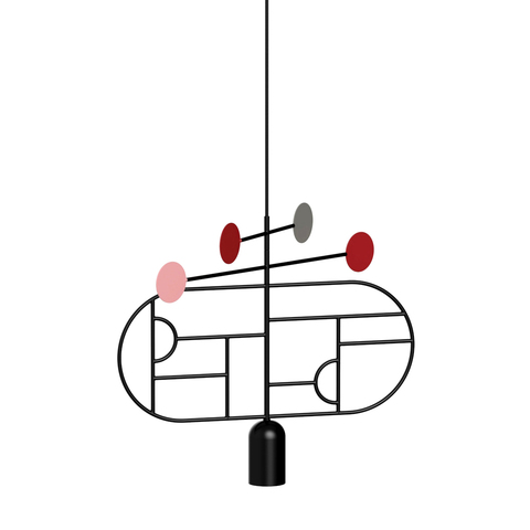 Подвесной светильник копия Lines & Dots LDS03 by Home Adventures