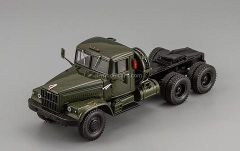 KRAZ-258B truck tractor khaki 1:43 Nash Avtoprom