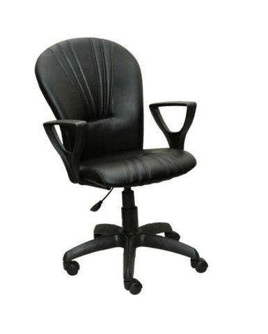 Кресло ВАРНА газлифт кожзам черный