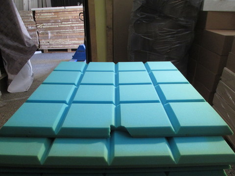 Акустический поролон Echoton Grid синий
