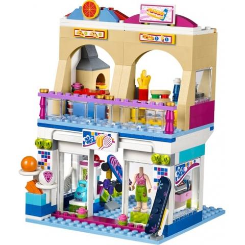 LEGO Friends: Торговый центр Хартлейк Сити 41058 — Heartlake Shopping Mall — Лего Френдз Друзья