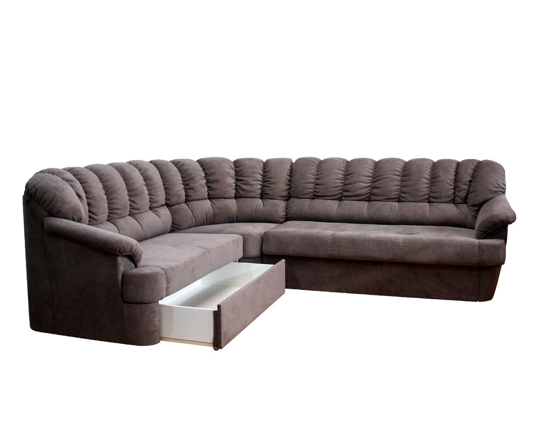 Уговой диван Калифорния 2с3 с ящиком