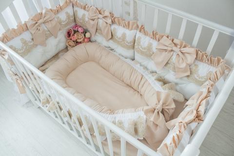 Babynest , гнездышко, кокон для младенца  Gold