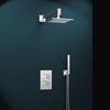 Встраиваемый смеситель для душа с душевым комплектом KUATRO K4715021 на 2 выхода - фото №1