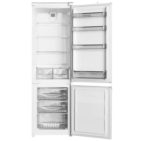 Встраиваемый двухкамерный холодильник Maunfeld MBF.177BFW