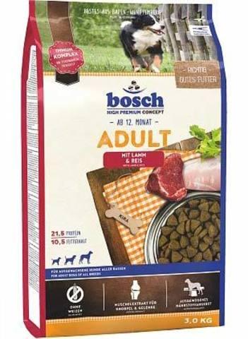 15 кг. Сухой корм для собак Bosch Adult Lamb & Rice