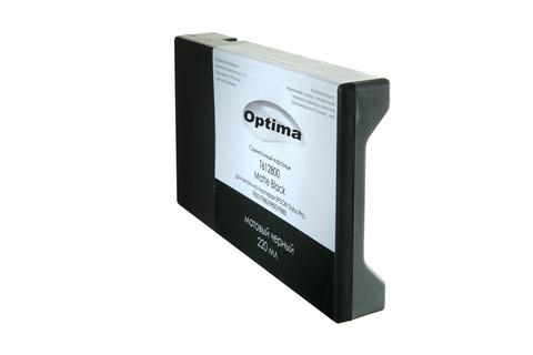Картридж Optima для Epson 7800/9800 C13T612800 Matte Black 220 мл
