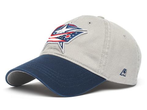 Бейсболка NHL Columbus Blue Jackets серая