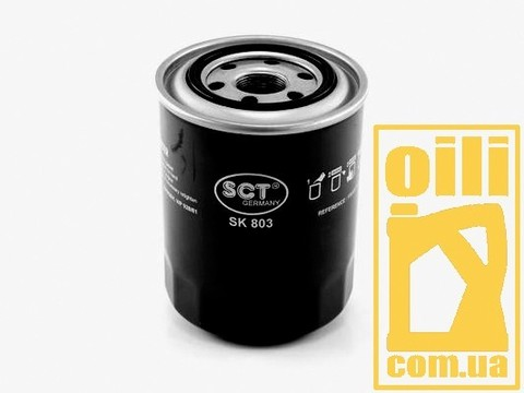 Фильтр масляный SCT SK803 (Hyundai, KIA, Mazda, Mitsubishi)