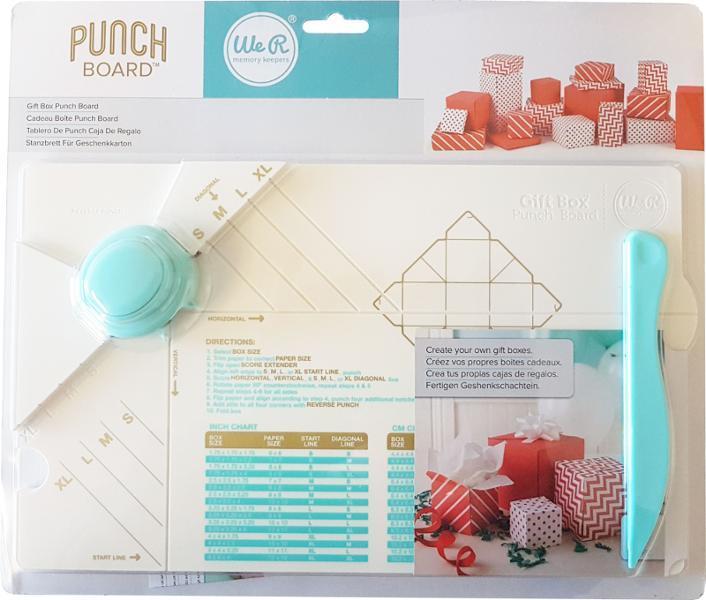 Доска для изготовления коробочек Punch Boards