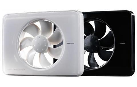 Накладной вентилятор FRESH Intellivent Black