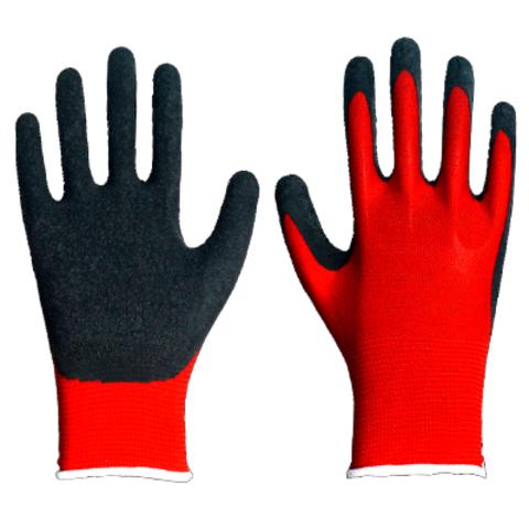 Перчатки нейлоновые с латексным вспененным покрытием ЭКОНОМ