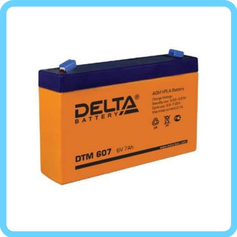 Аккумулятор Delta DTM 6V/7А