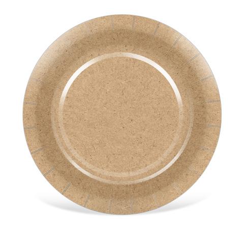 Тарелка d=190мм (плоская) картон