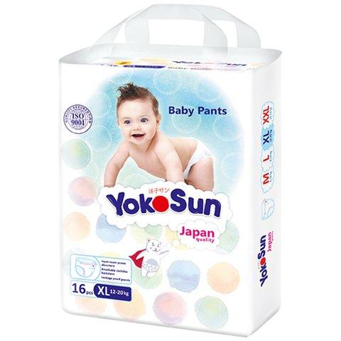 Трусики Yokosun,  12-20 кг (XL) мини упаковка