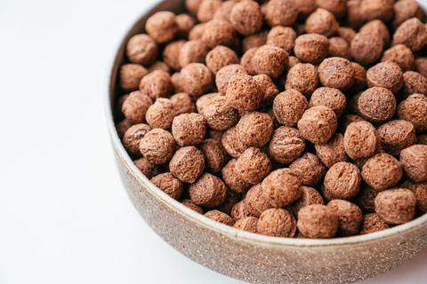 Сухой завтрак из полбы с какао