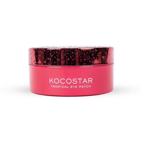 KOCOSTAR | Гидрогелевые патчи для глаз Тропические фрукты (60 патчей/30 пар) (Питахайя), (90 г)