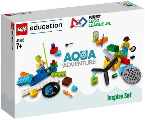 LEGO Education: Набор для FLL соревнований: Водное приключение 45805 — FIRST LEGO League (FLL) Challenge 2017 - Aqua Adventure Inspire Set — Лего Образование