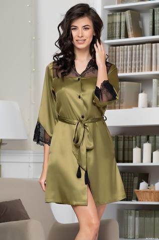Рубашка халат на пуговицах MIA-Amore OLIVIA ОЛИВИЯ 3647