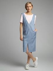 Платье-сарафан с накладными карманами PL1097/kevin